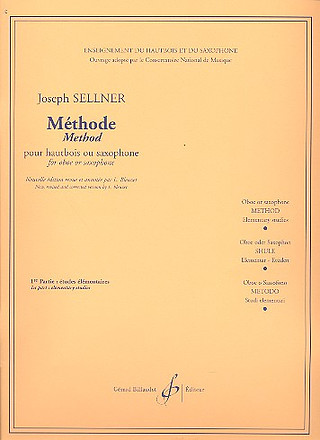 Sellner Joseph: Methode 1 / Etudes Elementaires