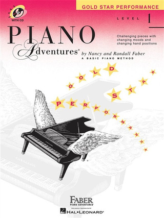 Randall Faber et al.: Piano Adventures 1 – Gold Star Performance