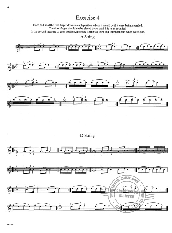 Roland Vamos: The Violinist's Daily Warm-Ups and Scale System (2)