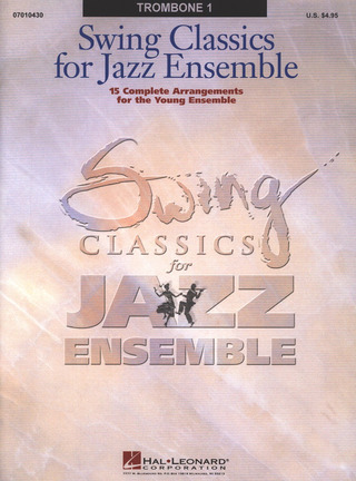Swing Classics for Jazz Ensemble - Trombone I