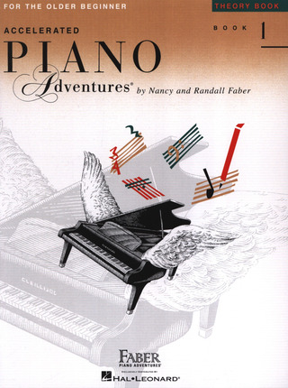 Randall Faber y otros.: Accelerated Piano Adventures 1 – Theory