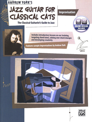 York Andrew: Jazz Guitar For Classical Cats - Improvisation