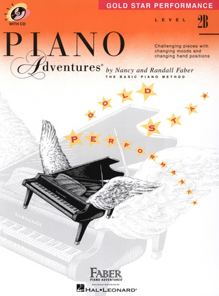Randall Faber et al.: Piano Adventures 2B – Gold Star Performance
