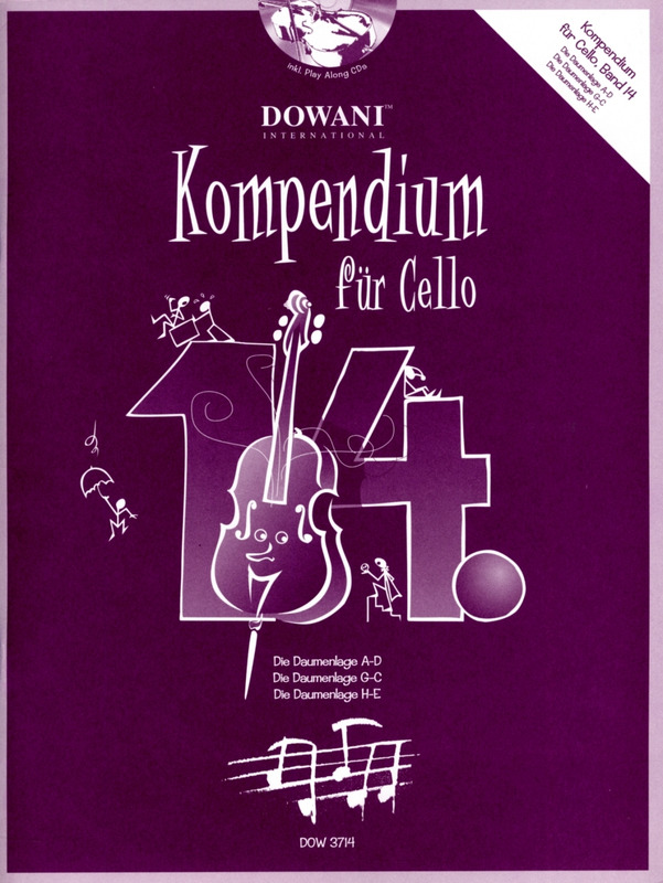 Josef Hofer: Kompendium für Cello 14