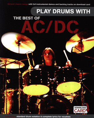 AC/DC: Play Drums With... The Best Of AC/DC (Book/Audio Download)