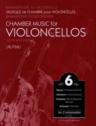 Chamber Music for Violoncellos 6