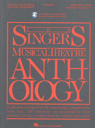 The Singer's Musical Theatre Anthology  1 – Baritone/Bass