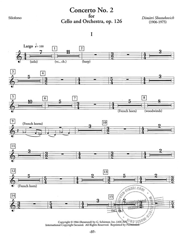 Orchestral Repertoire for the Xylophone 2 (3)