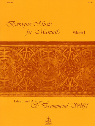 Baroque Music for Manuals 1
