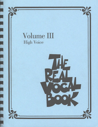 The Real Vocal Book 3 – High Voice