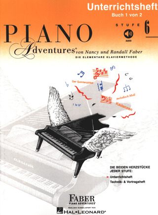 Nancy Faber et al.: Piano Adventures 6 –  Unterrichtsheft