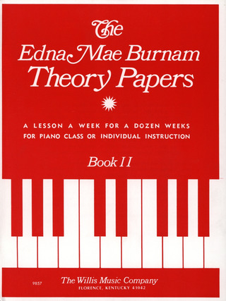 Edna Mae Burnam: Theory Papers 2