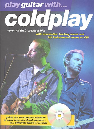 Coldplay: Coldplay Play Guitar With Tab Bk/Cd