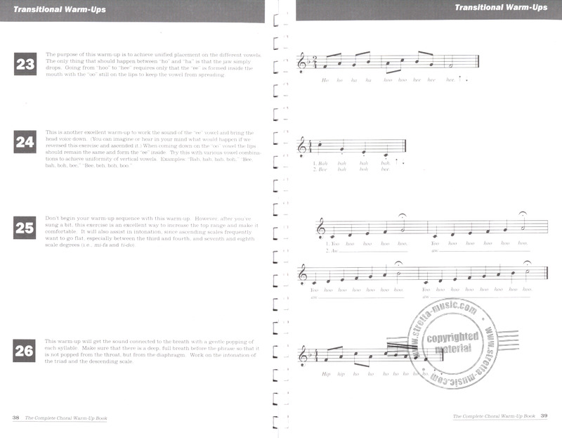 Russell Robinson et al.: The Complete Choral Warm-up Book (3)