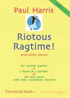 Paul Harris: Riotous Ragtime And Other Pieces