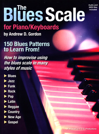 Andrew D. Gordon: The Blues Scale for Piano/Keyboards
