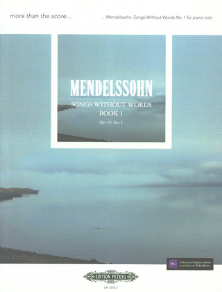 Felix Mendelssohn Bartholdy: Songs Without Words Op. 19 No. 1