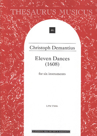 Christoph Demantius: 11 Dances (1608)
