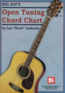Andrews Lee Drew: Open Tuning Chord Chart