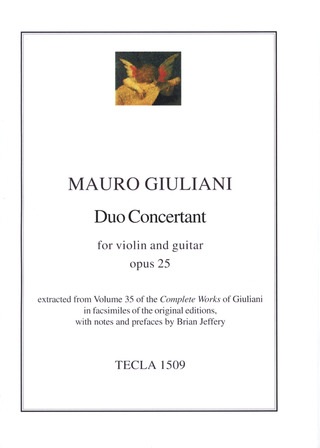 Mauro Giuliani: Duo Concertant Op 25
