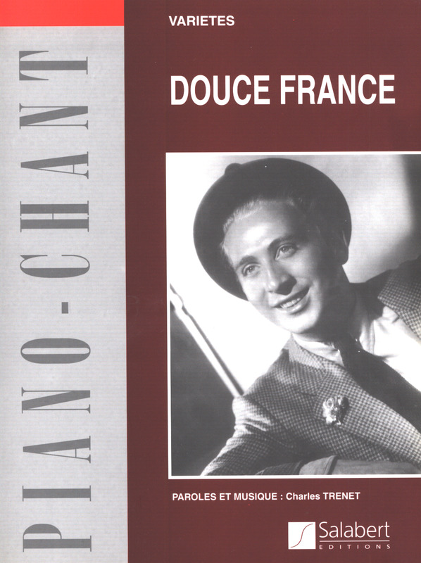 Charles Trenet: Douce France Varietes (Coquille) (+ Guitare)