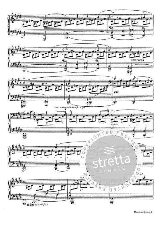 Mondscheinsonate Beethoven