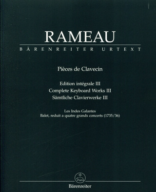 Jean-Philippe Rameau: Complete Keyboard Works 3