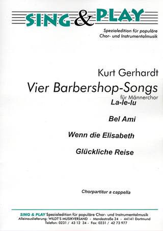 Gerhard Kurt: 4 Barbershop Songs