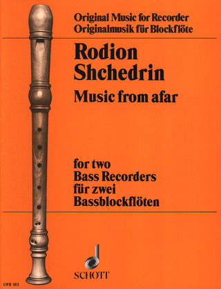 Rodion Schtschedrin: Music from afar (1996)