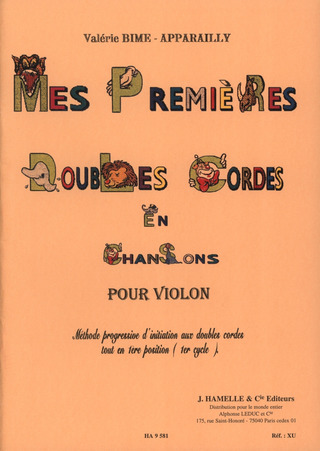 Bime Apparailly Valerie: Mes Premieres Doubles Cordes