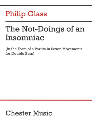 Philip Glass: The Not-Doings of an Insomniac