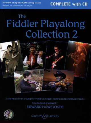 Edward Huws Jones: The Fiddler Playalong Collection