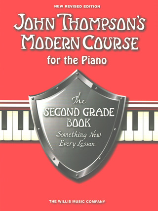 John Thompson: Modern Course for the piano the second grade book