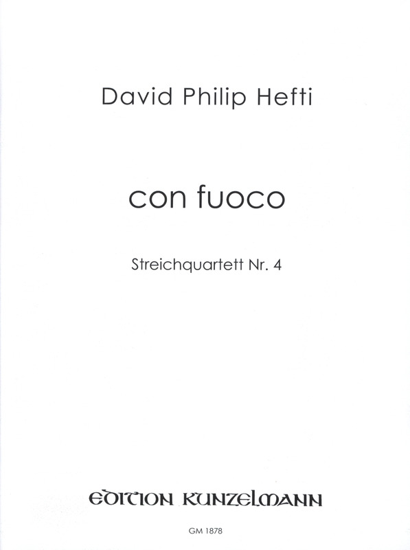 Hefti David Philip: Con Fuoco