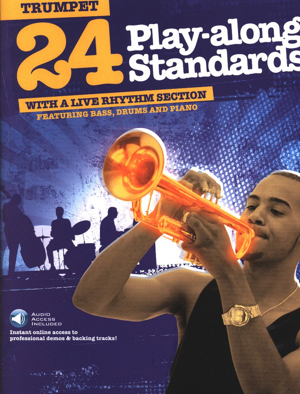 24 Play-Along Standards – Trumpet