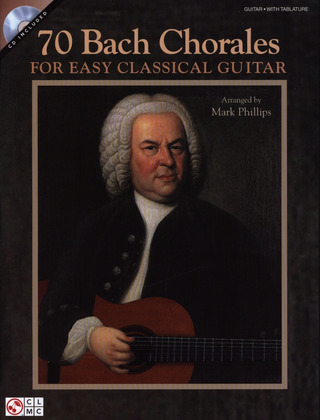 Johann Sebastian Bach: 70 Bach Chorales For Easy Classical Guitar