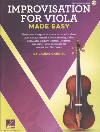 Laurie Gabriel: Laurie Gabriel: Improvisation For Viola Made Easy