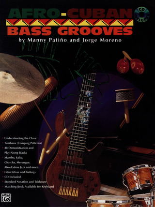 Patino Manny + Moreno Jorge: Afro Cuban Bass Grooves