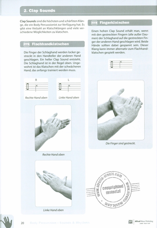 Richard Filz: Body Percussion – Sounds and Rhythms (1)