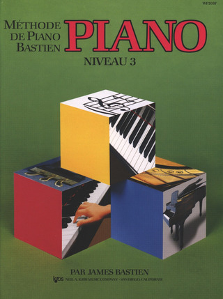 James Bastien: Méthode de piano Bastien 3