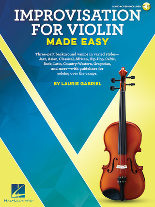 Laurie Gabriel: Laurie Gabriel: Improvisation For Violin Made Easy
