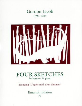 Gordon Jacob: Four Sketches for Bassoon and Piano