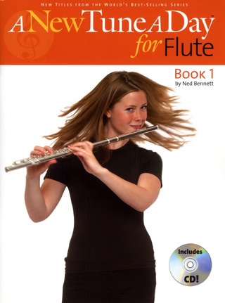Bennett, Ned: A New Tune A Day Flute Cd Edition Flt Book / Cd
