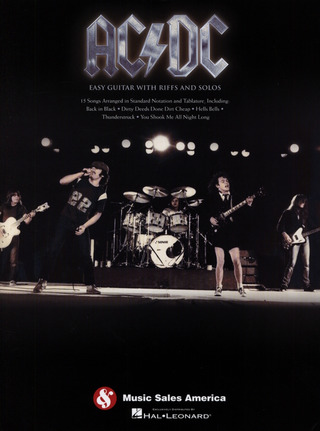 AC/DC – Easy Guitar with Riffs and Solos