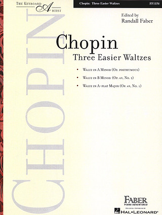 Frédéric Chopin: Three Easier Waltzes