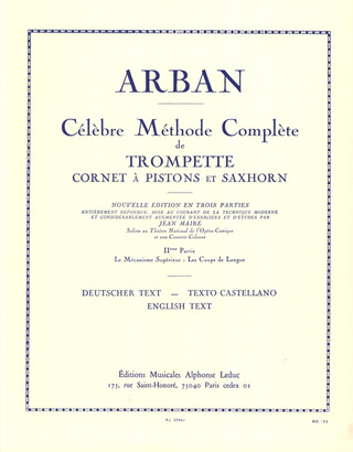 Jean-Baptiste Arban: Methode