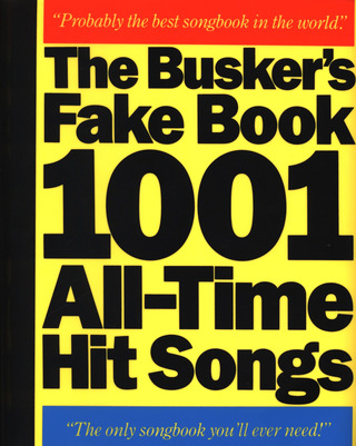 Buskers Fake Book - 1001 All Time Hit Song