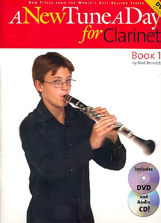 Bennett Ned: A New Tune A Day For Clarinet Dvd Edition Clt Bk / Cd / Dvd