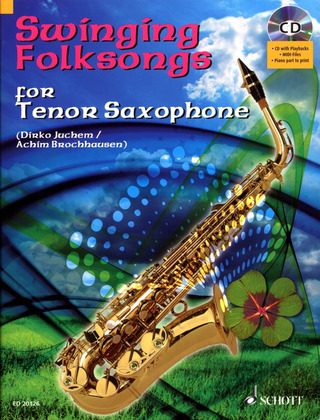Swinging Folksongs for Tenor Saxophone