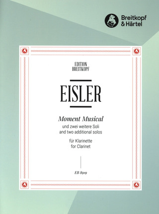Hanns Eisler: Moment Musical